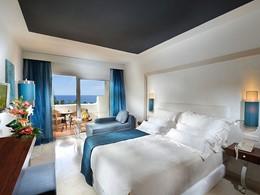 La chambre Standard de l'hôtel Jardin Tropical