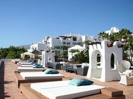 Le Beach Lounge Club de l'hôtel Jardin Tropical aux Iles Canaries