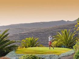 Le terrain de golf du Jardin Tropical Hotel des Iles Canaries