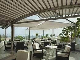 Le bar La Cascada de l'hôtel Jardines de Nivaria