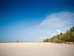 La plage du Jetwing Blue