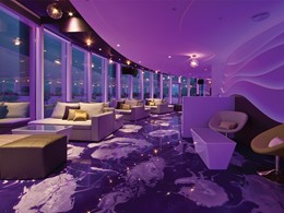 Le bar 360 de l'hôtel Jumeirah Beach à Dubaï