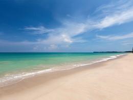 La plage de Khuk Khak