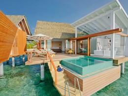 Vue extérieure de la Ocean Pool Villa