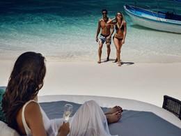Profitez de la belle plage de l'hôtel Karma Reef