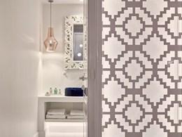 Un style épuré pour la salle de bain de la Honeymoon Suite