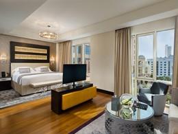 La Deluxe Room de l'hôtel Kempinski Mall Of The Emirates à Dubaï