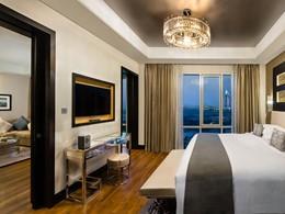 La Grand Deluxe Room de l'hôtel Kempinski Mall Of The Emirates à Dubaï