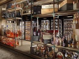 Une large sélection de boissons vous attend au bar de l'hôtel