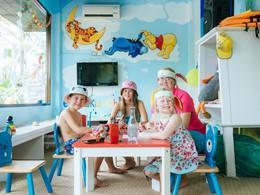 Activités ludiques et créatives au mini club