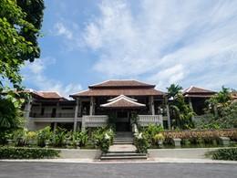 L'entrée de l'hôtel Khaolak Laguna Resort