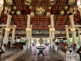 Le lobby du Khaolak Laguna Resort en Thailande