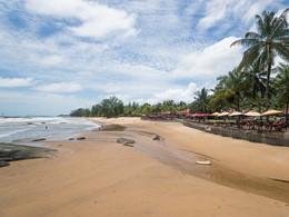 La plage de l'hôtel Khaolak Laguna Resort