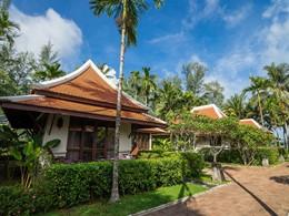 Vue des superbes villas du Khaolak Laguna Resort