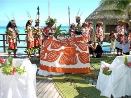 Mariage à l'hôtel Kia Ora, en Polynésie