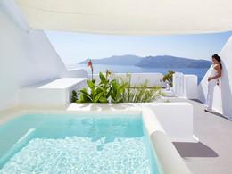 Suite Kirini de l'hôtel Kirini à Santorin