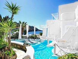 Two Bedroom Royal Suite Private Pool Sea View du Kivotos