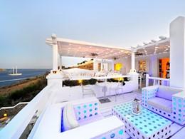 Le K bar de l'hôtel Kivotos situé en Grèce