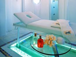 Le spa de l'hôtel 5 étoiles Kivotos en Grèce