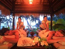 Cabine de massage du Koh Tao Cabana en Thaïlande