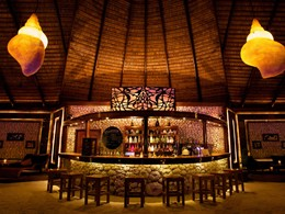 Sangu Bar du Kuredu Island Resort aux Maldives