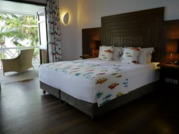 Varangue Room de La Belle Tortue aux Seychelles