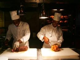 Démonstration culinaire à l'hôtel La Créole Beach Resort