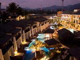 Vue de l'hôtel La Flora Resort & Spa à Khao Lak