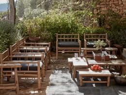 Le jardin de La Granja, l'adresse la plus exclusive d'Ibiza