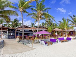 Le restaurant de l'hôtel La Plantation aux Antilles