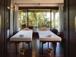 Le spa de l'hôtel 5 étoiles Belmond la Résidence Phou Vao au Laos