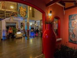 Le bar de l'hôtel 4 étoiles La Suite Villa aux Antilles