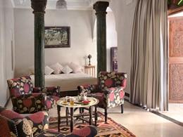 La Suite de l'hôtel La Sultana Marrakech au Maroc