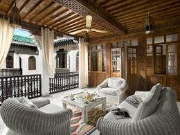 La terrasse de l'Appartement Duplex de La Sultana
