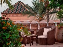 Rafraichissez vous à l'hôtel La Sultana à Marrakech