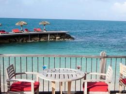 Restaurant On The Beach de l'hôtel La Toubana