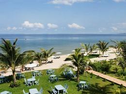La superbe plage de l'hôtel La Véranda à Phu Quoc