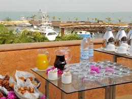 Petit déjeuner du Lamantin Beach Hotel au Senegal