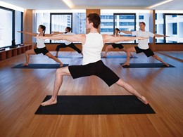 Yoga à l'hôtel Landmark Mandarin Oriental à Hong Kong