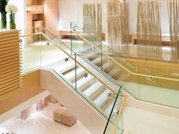 Le lobby de l'hôtel 5 étoiles Landmark Mandarin Oriental