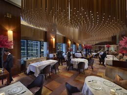Le restaurant gastronomique Amber du Landmark Mandarin Oriental
