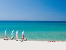 La superbe plage de l'hôtel Le Dune Resort & Spa