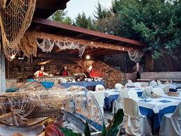Le restaurant Scorfano de l'hôtel Le Dune Resort & Spa