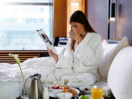 Profitez d'un petit-déjeuner servi en chambre
