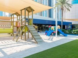 Coin enfants de l'hôtel Méridien Mina Seyahi à Dubaï