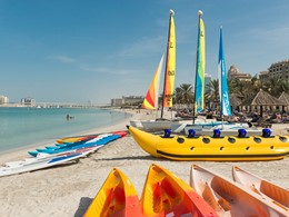 Activités nautiques de l'hôtel Méridien Mina Seyahi