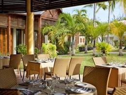 Le restaurant Le Maloya du Récif Hotel à Saint-Gilles