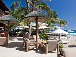 Le bar au bord de la plage