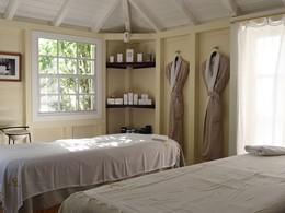 Le spa de l'hôtel 5 étoiles Le Toiny à Saint Barth
