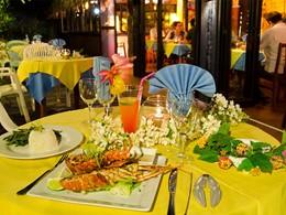 Le restaurant Italien de l'hôtel Les Tipaniers